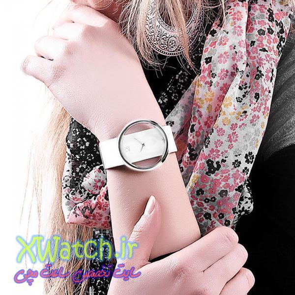 ساعت مچی بند سفید