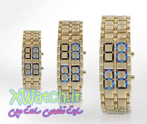خرید ساعت مچی جدید مردانه ال ای دی