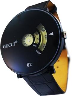 ساعت بند چرمی مردانه گوچی