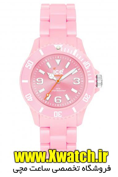 ساعت مچی ژله ای رنگی دخترانه