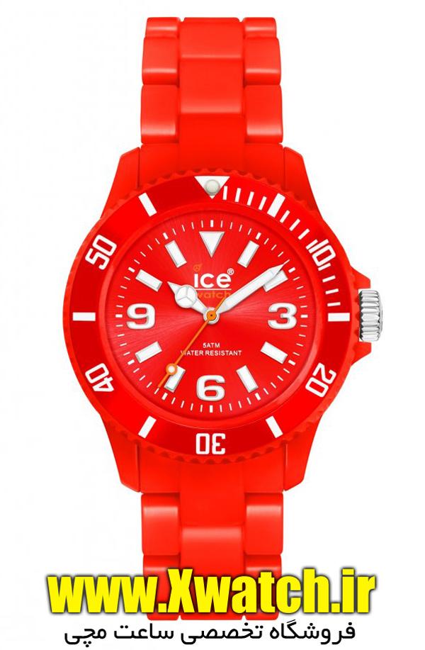 ساعت مچی ژله ای رنگی